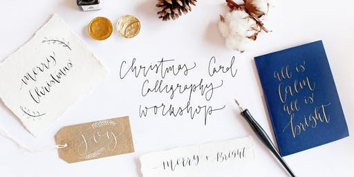 Calligraphy Christmas Card Making Workshop