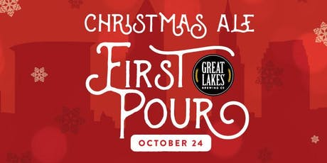 Christmas Ale First Pour at Great Lakes Brewing Co. tickets