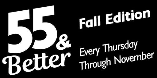 55 & Better: Seated Fitness Class