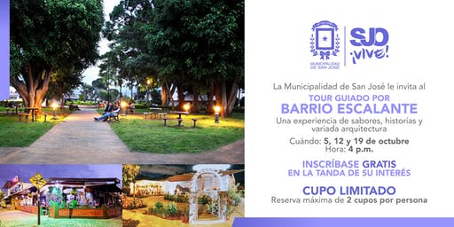 Tour guiado por barrio Escalante