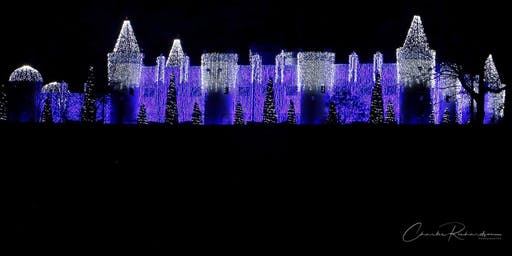 Members' Night of Lights at The Castle in Canadian Lakes