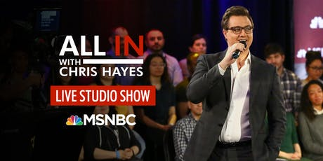 All In with Chris Hayes tickets