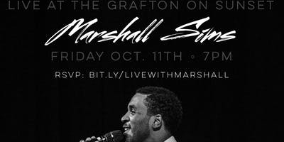 Marshall Sims Live at The Grafton on Sunset