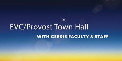 EVC/Provost Town Hall