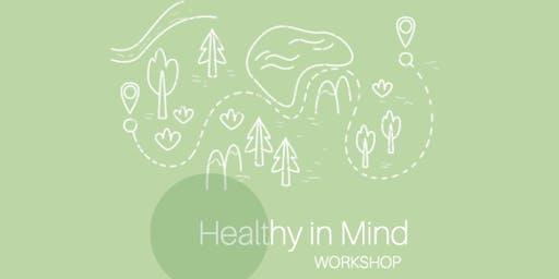 Healthy in Mind - a workshop for better mental health
