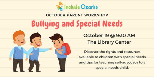 Bullying and Special Needs