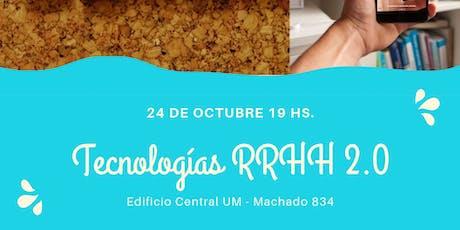 Tecnología RRHH 2.0 entradas