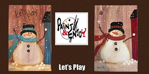 """Paint and Enjoy at Benigna's Winery """"Let's Play """"on Wood"""