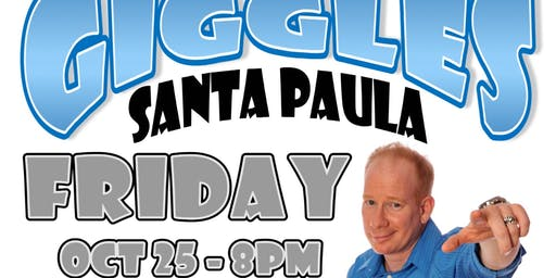 "Giggles Santa Paula with Headliner Darren Carter ""The Party Starter"""