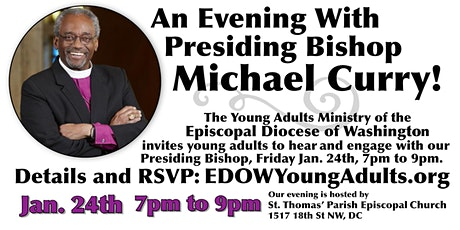 An Evening with Presiding Bishop Michael Curry tickets