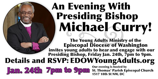 An Evening with Presiding Bishop Michael Curry