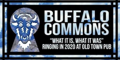 Buffalo Commons New Year's Eve tickets