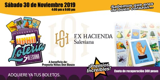 Lotería Salesiana 2019