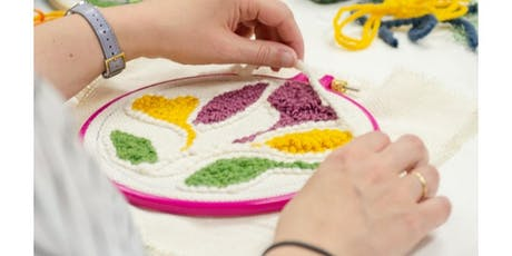 Punch Needle Embroidery Workshop tickets