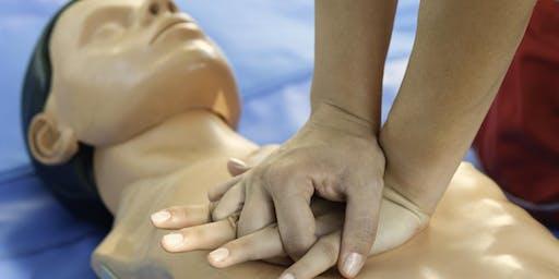 Free Public CPR & DeFib Training including choking