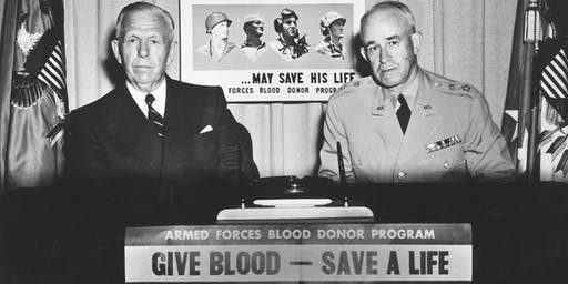 American Red Cross - 70th anniversary since GCM's presidency