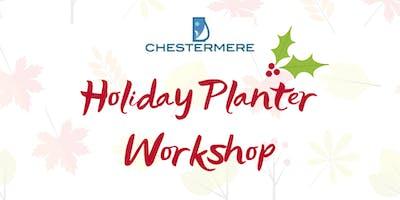 Holiday Planter Workshop