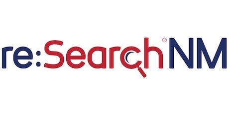 re:SearchNM Training - Santa Fe tickets