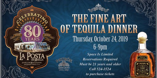 The Fine Art of Tequila Dinner