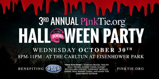 The 3rd Annual PinkTie.org Halloween Party