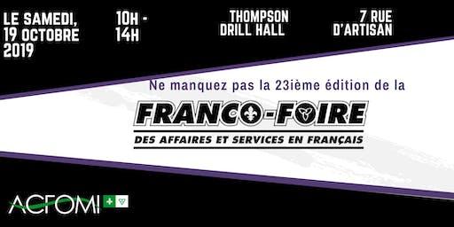 23e édition de la Franco-Foire !  / 23rd edition of the Franco-Foire!