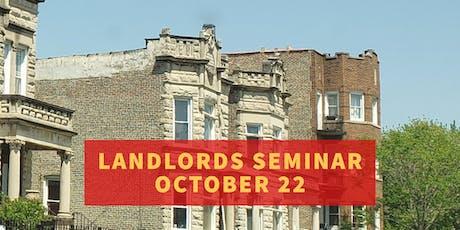 Landlords Seminar tickets
