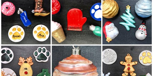 """Paint & Go Ceramic Ornaments"" (13yrs+)"