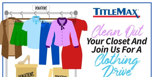 Winter Coat Drive at TitleMax Norcross, GA 3
