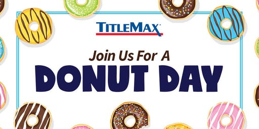 National Donut Day at TitleMax Augusta, GA 5