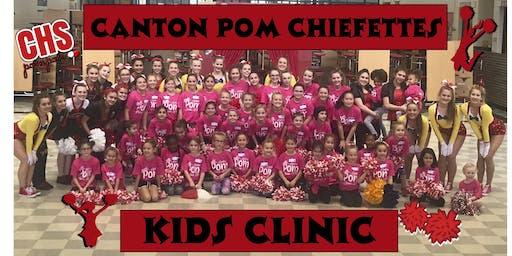 Canton Chiefette Pompon Clinic
