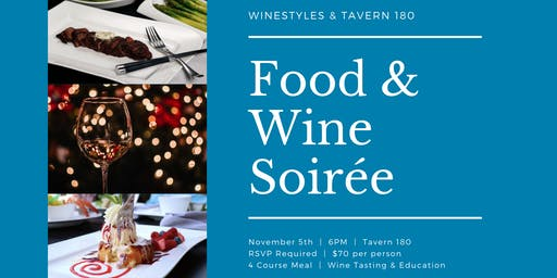 Food and Wine Soirée