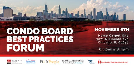 Condo Board Member Best Practices & Networking tickets