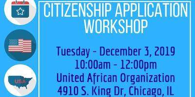 Citizenship Application: Walk In Consultations