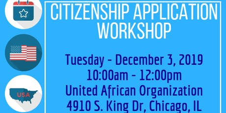 Citizenship Application: Walk In Consultations tickets