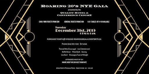 NYE 2020 - Roaring 20's Gala
