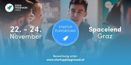 Startup Playground 2019 - Das Startup-Intensiv-Wochenende Tickets