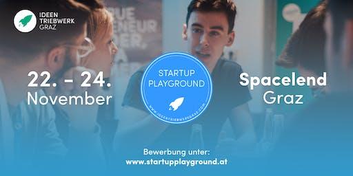 Startup Playground 2019 - Das Startup-Intensiv-Wochenende