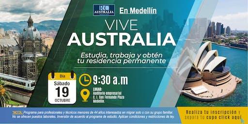 EN MEDELLÍN: Estudiar, trabajar y migrar a Australia es posible!