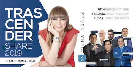 Vilma Núñez en Ecuador - Trascender Share 2019 entradas