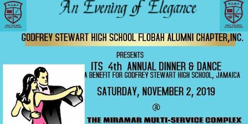 FLOBAH'S  FOURTH ANNUAL DINNER DANCE