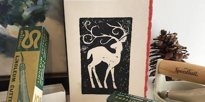 Holiday Card Printmaking Workshop