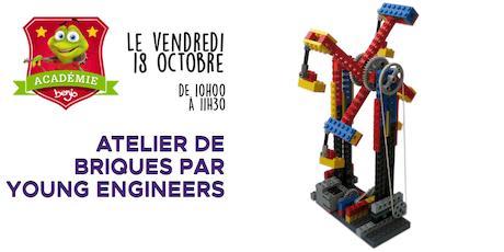 Atelier de briques par Young Engineers tickets
