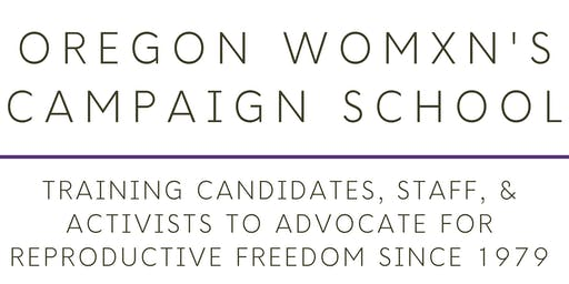 Oregon Womxn's Campaign School 2020