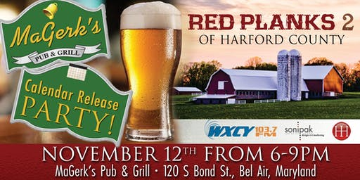 Red Planks 2 of Harford County Calendar Release Party