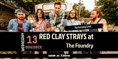 The Red Clay Strays with special guests Evan Stepp & the Piners