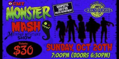 Monster Mash Halloween Murder Mystery