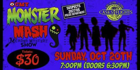 Monster Mash Halloween Murder Mystery tickets