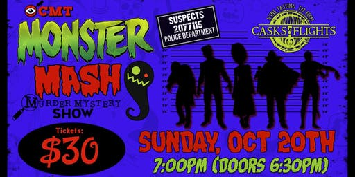 Monster Mash Halloween Murder Mystery
