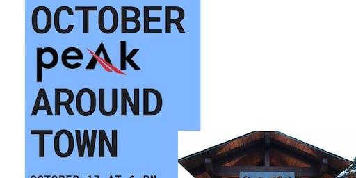 October PEAK Around Town