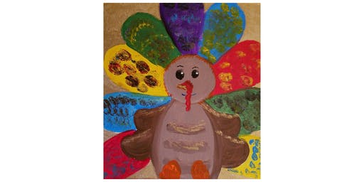 "Kids Open Paint (6yrs+) ""Tommy Turkey"""